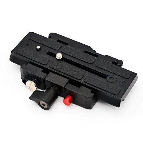 MagiDeal Rapid 577 Connect Adapter ohne Schiebe QR-Platte für Manfrotto 577 502hd (Adapter Schiebe-platte)