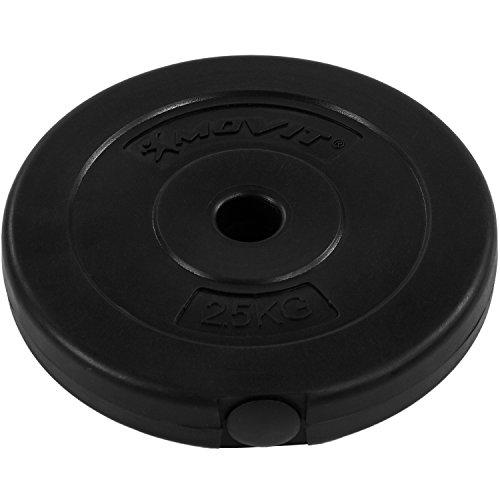 MOVIT® 35 kg Curlset, 1 SZ Curlstange gerendelt und verchromt mit Sternverschlüssen + 10 Gewichtsscheiben Hantelscheiben Curl Set Hantelset -