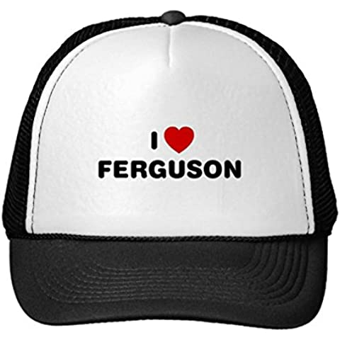 Funny I Love Ferguson Missouri Trucker Hat