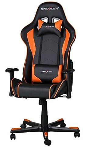 DXRacer OH/FE08/NO Formula Gaming Chair - schwarz/orange