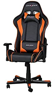 DXRacer OH/FE08/NO Formula Gaming Chair - schwarz/orange