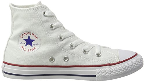 Converse Unisex-Kinder Chuck Taylor All Star Hohe Sneakers Weiß (Blanc Optical)