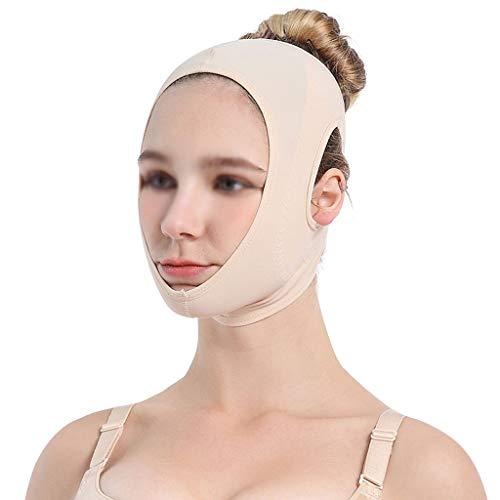 CY Dünner Gesichtsgürtel - Dünner Gesichtsverband Beauty Equipment Lifting Firming Doppelkinndekret V-Maske Schlafmaske Atmungsaktiv