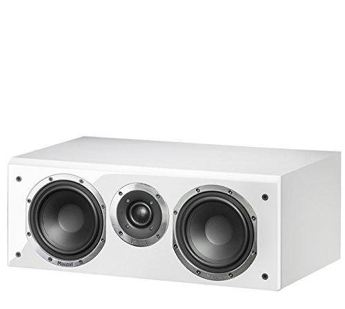 Magnat Shadow Center 213W, zentraler Lautsprecher, Farbe: Weiß