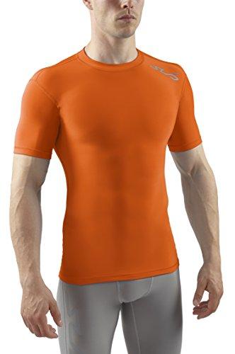 sub-sports-pantalon-sous-vetement-thermique-homme-cold-t-shirt-a-manches-courtes-couche-de-base-l-or