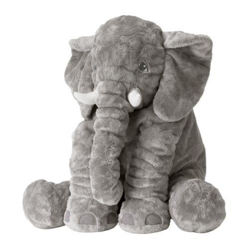 Preisvergleich Produktbild IKEA JÄTTESTOR Stofftier Elefant 60 cm Länge Kuscheltier