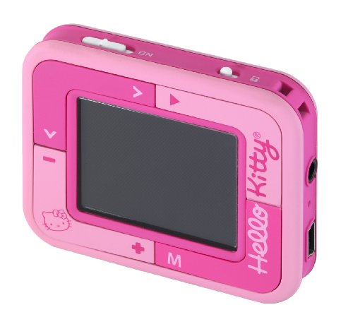 Trendwerk VHEHE0581 - MP4 Player Kids Pink Hello Kitty (Player Kitty Hello Radio Cd)