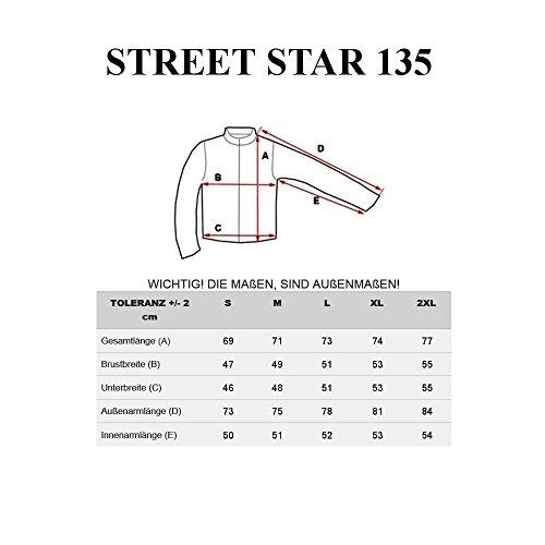 BOLF Herren Longsleeve Sweatshirt Langarm Pulli Figurbetont Farbwahl 1A1 MIX Grau_135