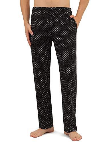 Di Ficchiano - Pantalón de Pijama - para Hombre Lunares M