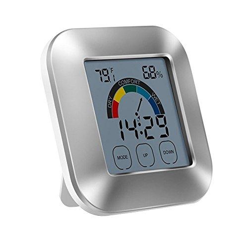 LCD Anzeige Digital drahtloser elektronischer Thermometer und Feuchtigkeits Monitor für Innenministerium (Nicht Zu Hause Halloween-zeichen)