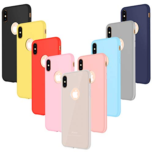 Leathlux 9X Funda iPhone XS MAX Silicona