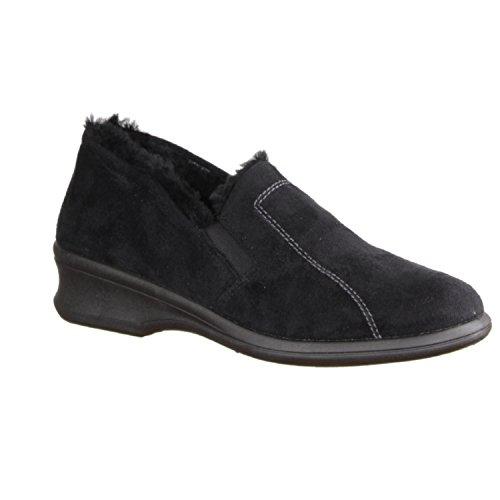 RohdeFarun - Pantofole donna Nero (nero)