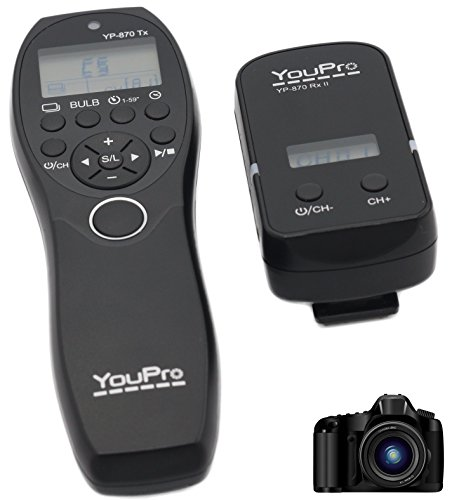 jrui-youpro-24-g-wired-wireless-shutter-timer-telecomando-display-lcd-32-canali-per-sony-alpha-e-kon