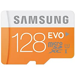 Samsung 128GB MicroSD XC Evo Class 10 UHS-1up to 48MB s with Adapter MB-MP128D by Samsung