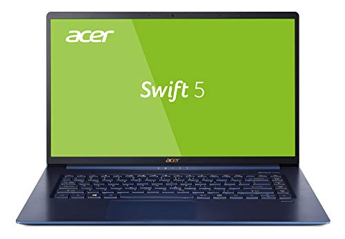 Acer Swift 5 SF515-51T-73Q7 39,6 cm (15,6 Zoll Full-HD IPS Multi-Touch) Ultrabook (Intel Core i7-8565U, 16GB RAM, 512GB SSD, Intel UHD, Win 10) blau