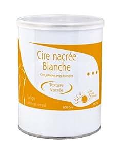 Oxann Cire Nacrée Blanche Miel/Pot 800 ml