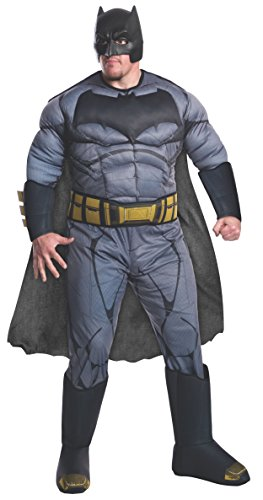 (Dawn Of Justice Batman Deluxe Adult Costume Plus)