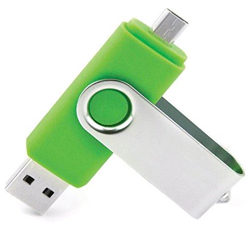 STONG OTG Telefono mobile /Tablet PC Trasformazioni duale Micro USB / USB 2.0 Memoria Unità flash In movimento Disco USB (32GB, verde)