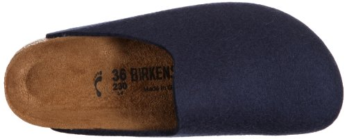 Birkenstock Amsterdamwollfilz, Mules Adulte Mixte Bleu (rot 8)
