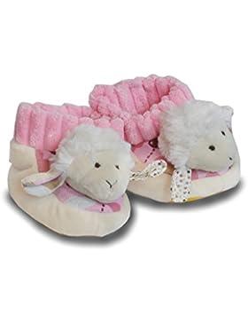 Ol. Baby Schuhe Schaf rosa