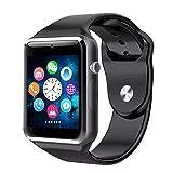 Reloj Inteligente, Smartwatch - Bluetooth 4.0- Cámara incorporada, Built-in Camera - Incluye Manual de Uso, User Manual Included - Negro, Black.