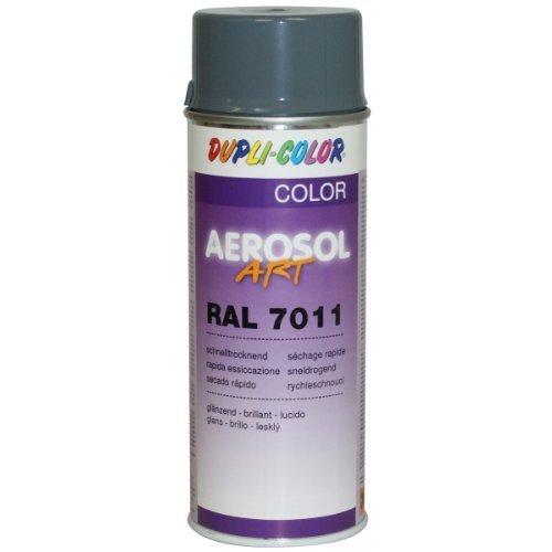 DUPLI-COLOR AEROSOL Art; RAL 7011 Matt; Eisengrau Matt; RAL7011; 400 ml