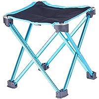 COSDDI Taburete Plegable Portátil, Silla de Viaje de Aluminio para Acampar al Aire Libre Taburete de Pesca Taburete de Asiento