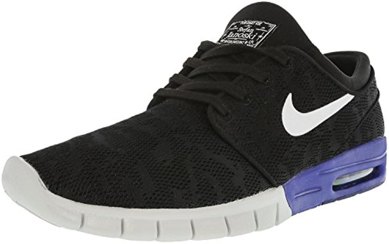 Zapatillas de skate Nike Stefan Janoski Max negro / blanco / Deep Night para hombre 9 hombres US