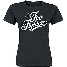 Foo Fighters Logo Girl-Shirt schwarz