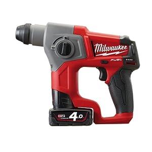 Milwaukee FUEL Akku Bohrhammer, M12CH/2.0 Ah mit HD Box