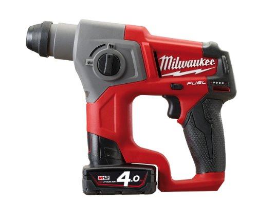 Preisvergleich Produktbild Milwaukee FUEL Akku Bohrhammer, M12CH/2.0 Ah + HD Box