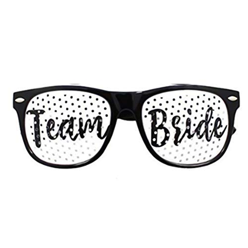 Rosa Brautbrille Brautparty Lustig Brille Polterabend Bachelorette Party ()
