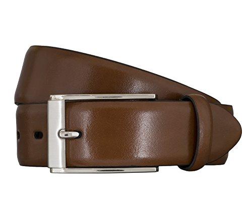 LLOYD Men's Belts Gürtel Herrengürtel Cognac 5857, Farbe:Braun, Länge:115 cm
