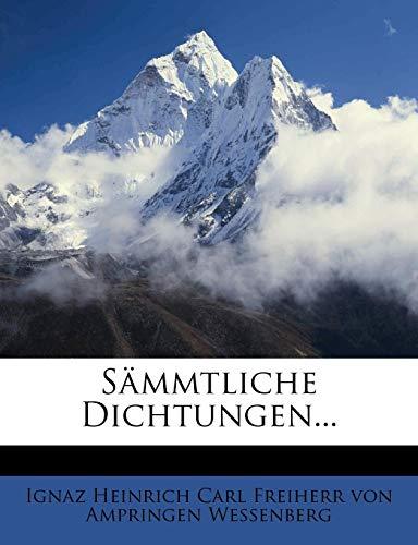 Sämmtliche Dichtungen von J.H. v. Wessenberg, erster Band
