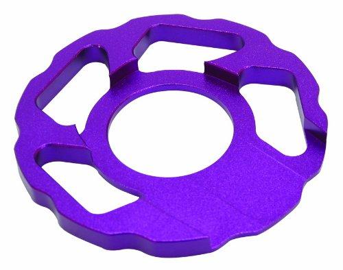 ONZA COMP BASH RING ANODISED PURPLE - Comp-bib-shorts