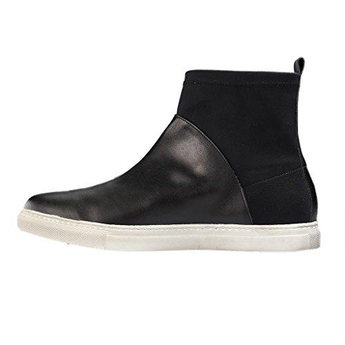 Curto De Senhoras Pensilvânia 107 Milano Alessandro Botas Xxl Em Tamanhos Pretos Sapatos Mais Eixo 2 x8YAa