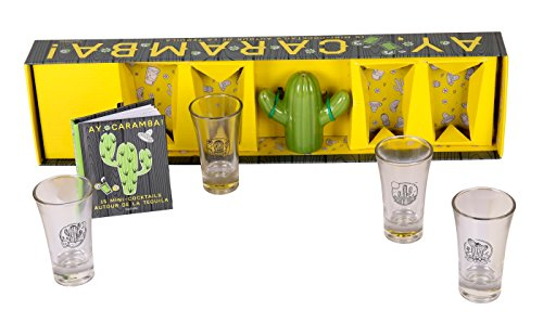 Coffret Ay, caramba!: 15 mini-cocktails autour de la Tequila