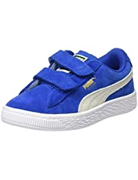 Puma Unisex-Kinder Suede 2 Straps Ps Low-Top