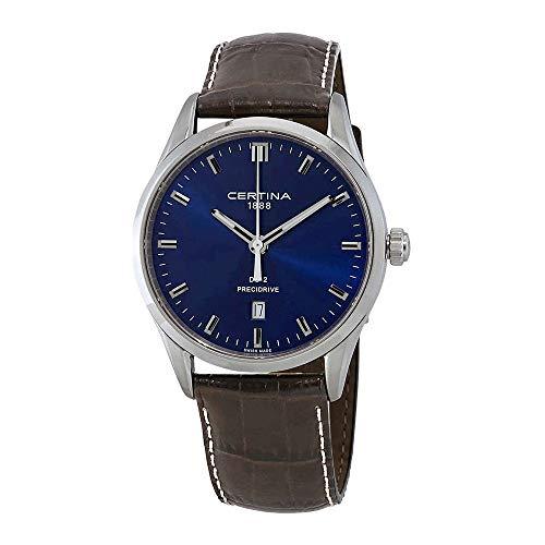 Certina DS-2 Precidrive C024.410.16.041.20 - Reloj para Hombre, Esfera Azul, Color Azul