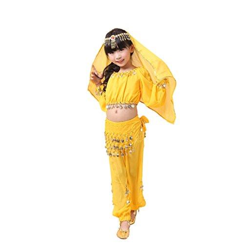 genmantel Gr. X-Large, gelb (Egyptian Fancy Dress Frauen)