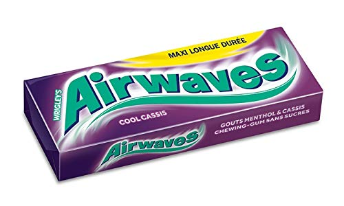 Wrigley Airwaves Cool Cassis, 30er Pack, (30 x 10 Dragees) -