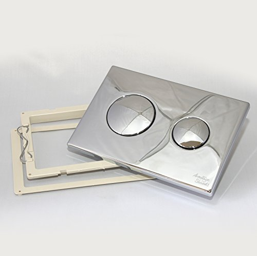 Armitage Shanks S4397AA Chrome Conceala 2 Dual Flush Push Button Plate by Armitage Shanks