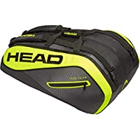 Head Extreme 12r Monstercombie - Bolsa para Raqueta de Tenis, Color Negro/Amarillo, tamaño Talla única