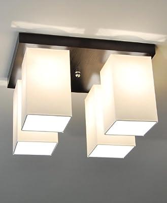 Designer Decken Leuchte Lampe Retro Deckenleuchte Wohn Zimmer E27 Power LED Bern 5
