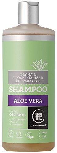 Urtekram Aloe Vera Shampoo Bio, trockenes Haar, 500 ml (Aloe-vera-extrakt)