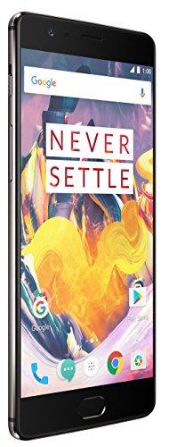 OnePlus 3T (Gunmetal, 6GB RAM + 64GB memory)