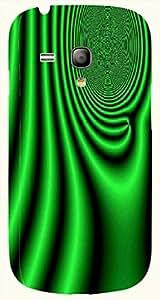 Brilliant multicolor printed protective REBEL mobile back cover for S3 Mini / Samsung I8190 Galaxy S III mini D.No.N-T-1412-S3M