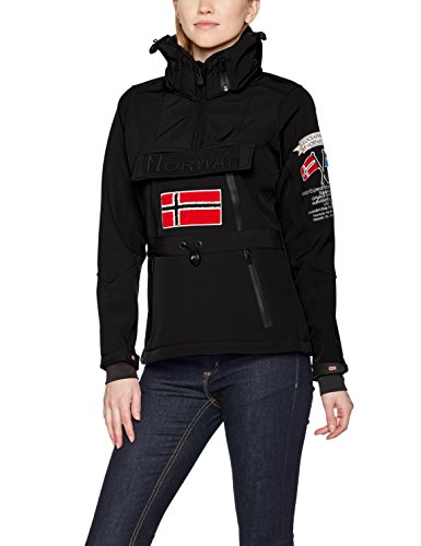 Geographical Norway TULBEUSE Lady 005 Chaqueta Deportiva, Negro Black, Large para Mujer