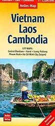 Nelles Map Landkarte Vietnam - Laos - Cambodia: 1:1,5 Mio | reiß- und wasserfest; waterproof and tear-resistant; indéchirable et imperméable; irrompible & impermeable (Nelles Map / Strassenkarte)