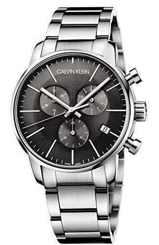 Calvin Klein Herren-Armbanduhr Chronograph Quarz Edelstahl K2G27143